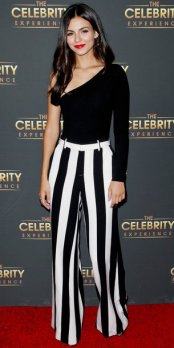 LOS ANGELES, CA - JULY 16: Victoria Justice attends The Celebrity Experience at Hilton Universal Hotel on July 16, 2017 in Los Angeles, California. (Photo by Tibrina Hobson/WireImage)